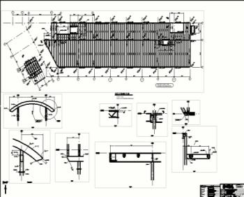 Steel detailing sample drawings for Steel building plans drawings